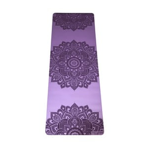 Fialová podložka na jógu Yoga Design Lab Mandala Lavender, 5 mm