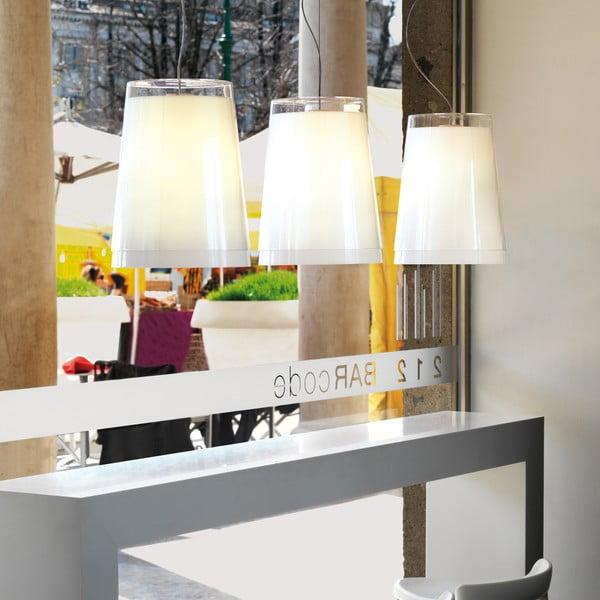 Závěsné světlo L001S/AA, bílé