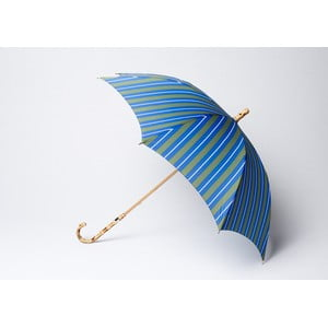 Deštník Stripe, modro-zelený
