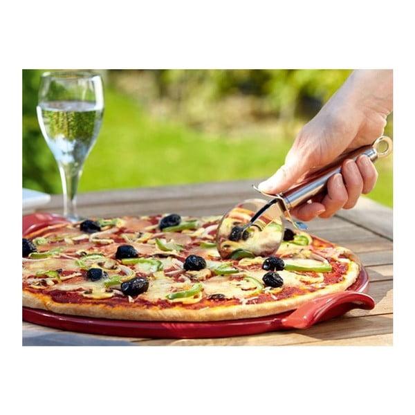 Podnos na pizzu Emile Henry 30 cm, pepřová