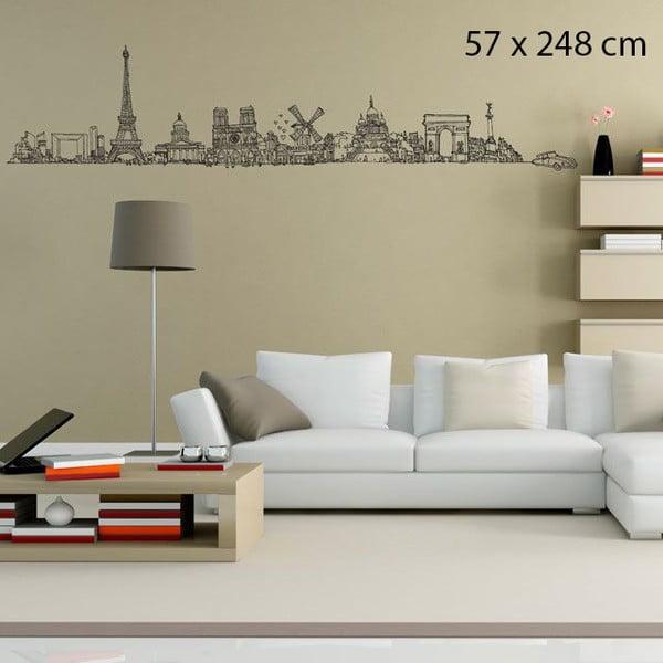 Samolepka All Paris, 248x57 cm
