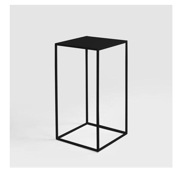 Černý odkládací stolek Custom Form Tensio, 30x30cm