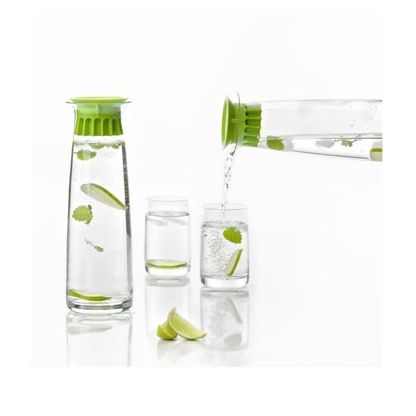 Karafa na vodu Confetti 1l, zelená