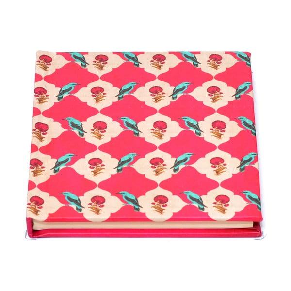 Zápisník Kuheli Floral Feather, A6