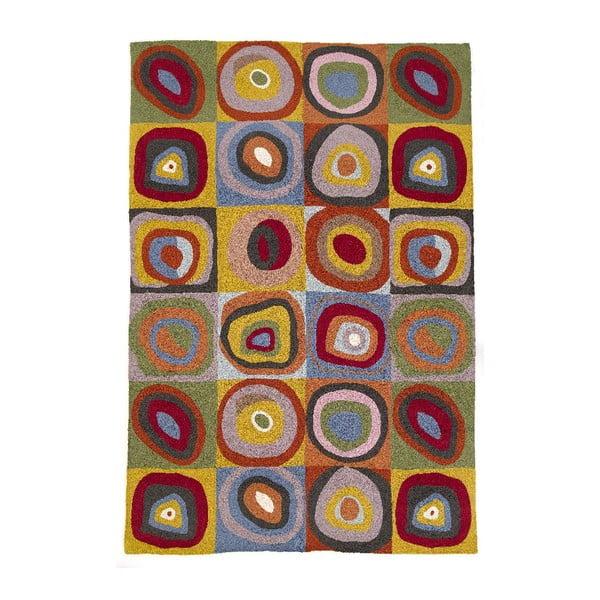 Koberec Kandinsky Squares, 180x120 cm