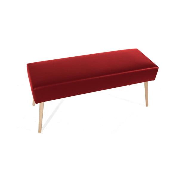 Červená lavice Max Winzer Sue