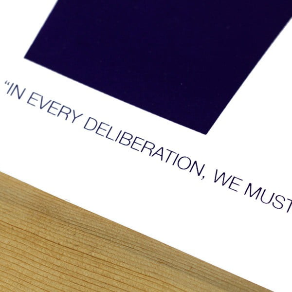 Plakát Seven Quote, 61x46 cm