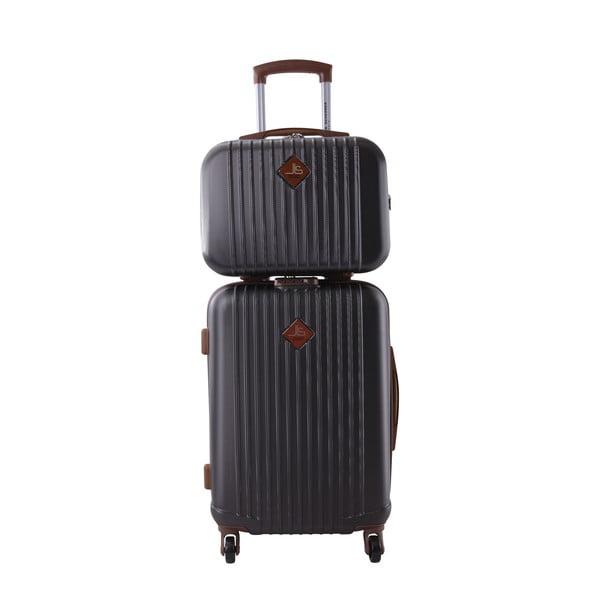 Kufr s příručním zavazadlem Vanity Jean Louis Scherrer Dark Grey