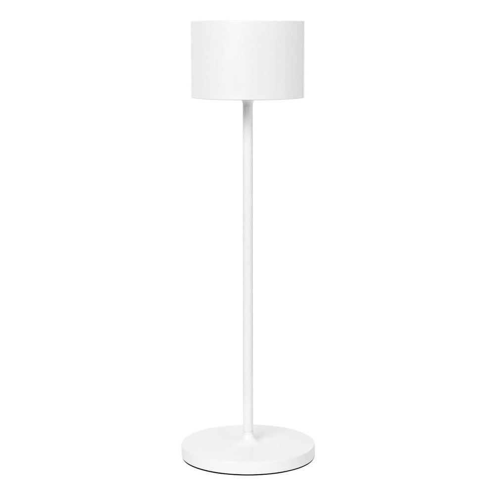 Bílá přenosná led lampa Blomus Farol