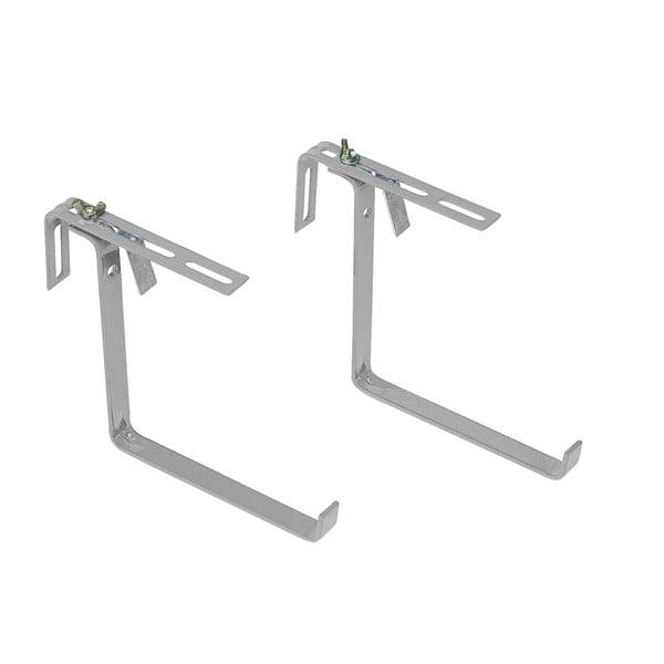 Držák na zábradlí Basic Aluminium