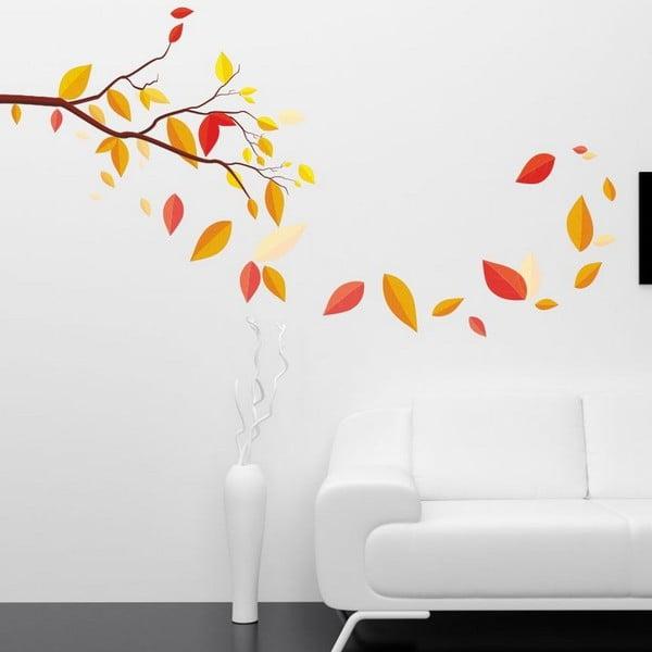 Dekorativní nálepka na stěnu Autumn Leaves