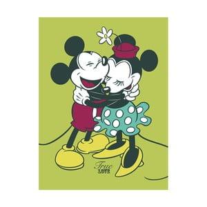 Obraz Pyramid International Mickey & Minnie Mouse True Love, 60 x 80 cm
