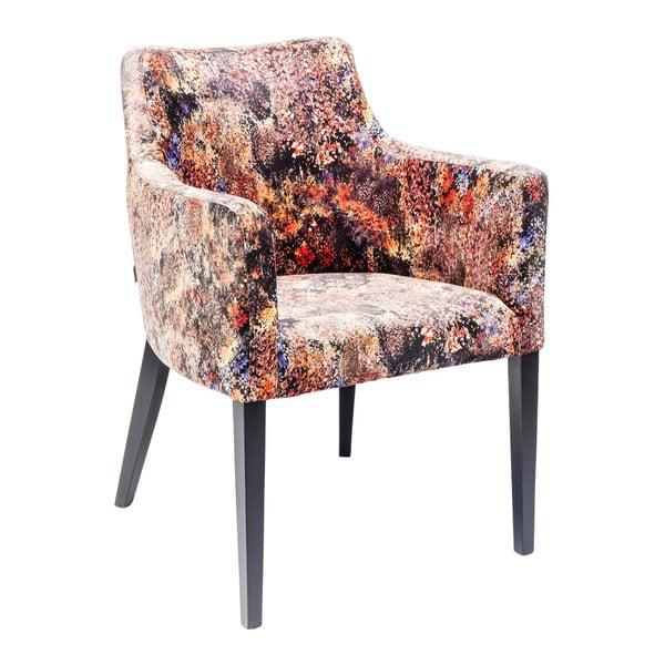 Barevná židle s opěrkami Kare Design Safari