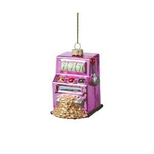 Vánoční závěsná ozdoba ze skla Butlers Hrací automat