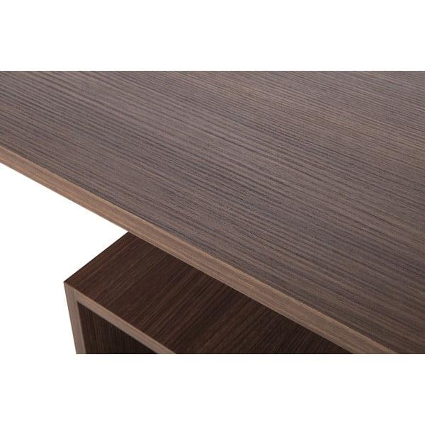 Pracovní stůl Bahar Walnut