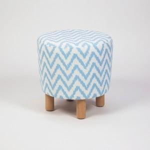 Taburet s dřevěnými nohami Cono Nina, ⌀41cm