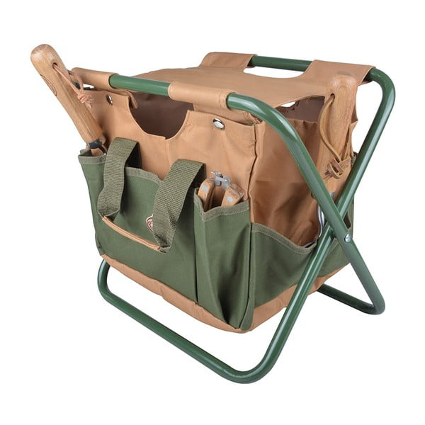 Składane krzesełko ogrodowe Esschert Design Agnes