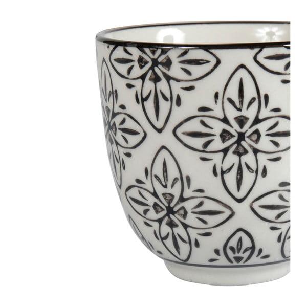 Sada 4 porcelánových hrnků Zellige