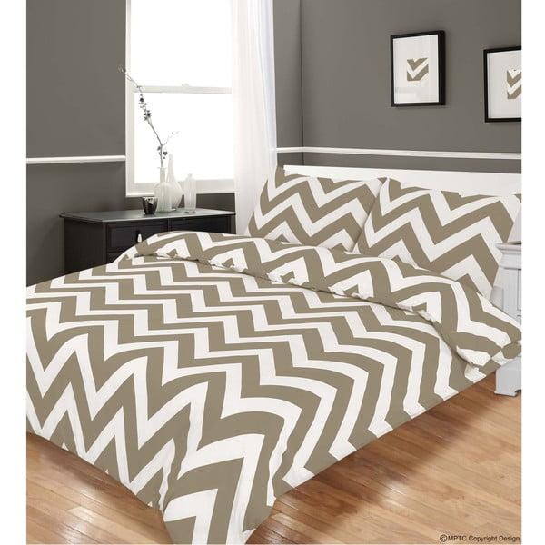 Povlečení Zigzag Grey, 230x220 cm