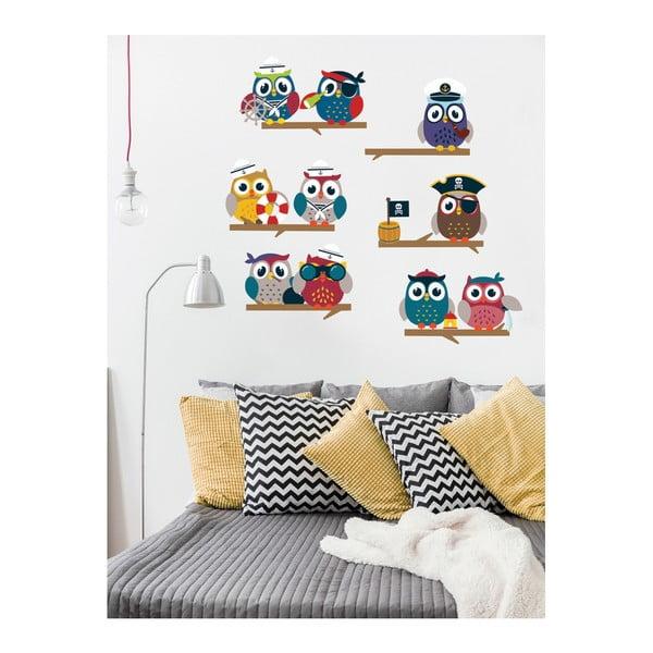 Set autocolante Ambiance Owls