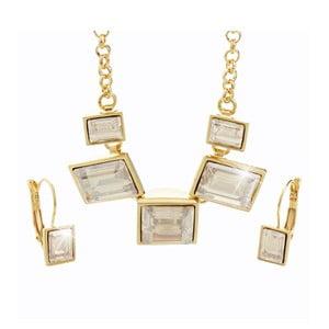 Set náhrdelníku a náušnic s krystaly Swarovski® Yasmine Agnete