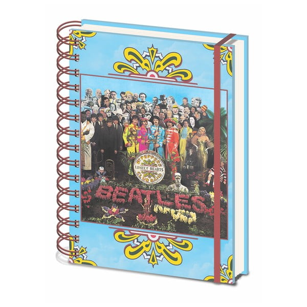 Caiet liniat A5 Pyramid International The Beatles Sgt. Pepper´s, 80 pagini