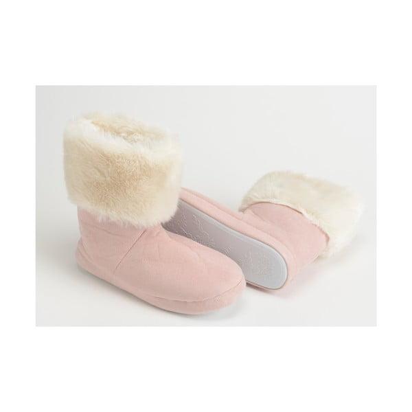 Papuče Fur Pink, vel. 37/38