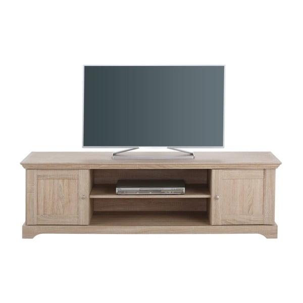 Širší drevený TV stolík Støraa Anika