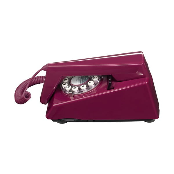 Retro funkční telefon Trim Plum