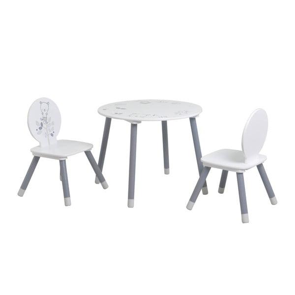 Masă cu 2 scaune pentru copii Demeyere Teddy Bear