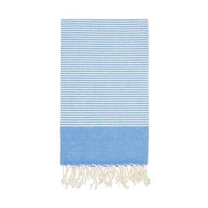 Hammam osuška Side Blue, 100x180 cm