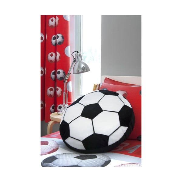 Závěs Football Red, 168x183 cm