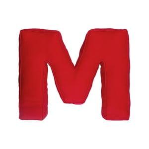 Látkový polštář M, červený