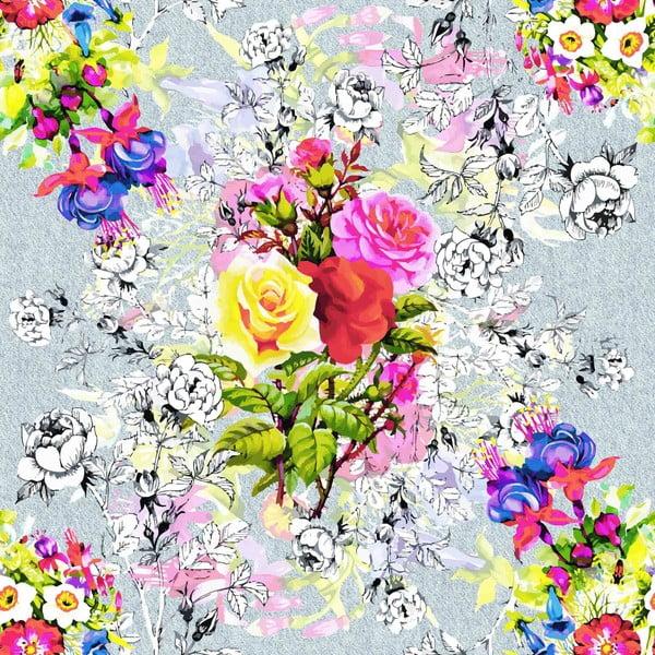 Povlečení Rose Garden Pink, 140x200 cm