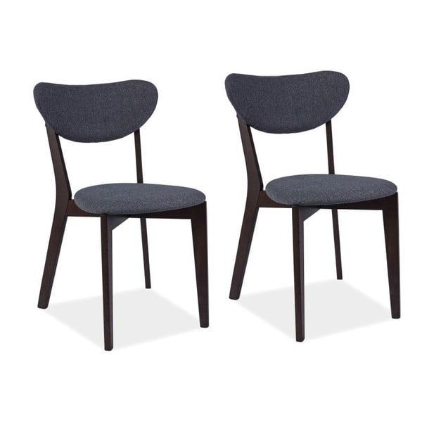Sada 2 jídelních židlí Andre Wenge