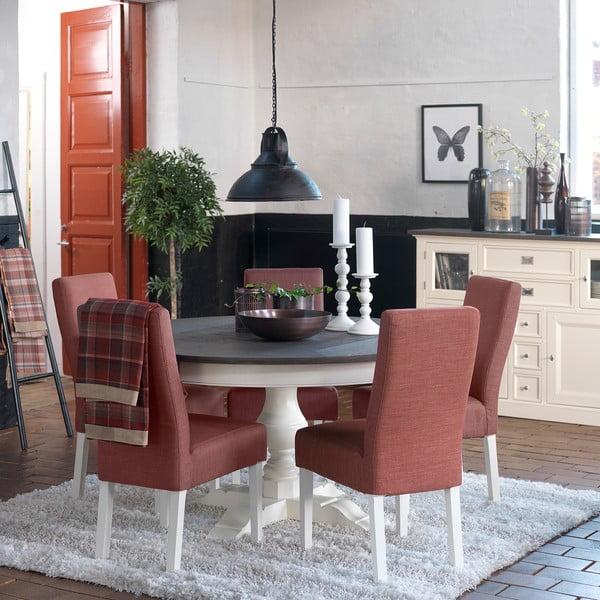 Bílý jídelní stůl Canett Skagen Dining, rozkládací