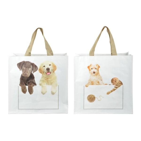 Sada 2 nákupních tašek s motivem šťáňátek Esschert Design