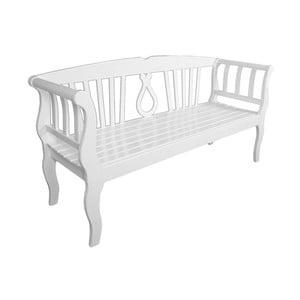 Zahradní lavice z eukalyptového dřeva ADDU Arcadia