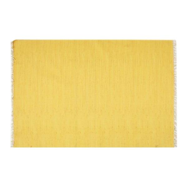Covor Eco Rugs Yolk, 80 x 300 cm, galben