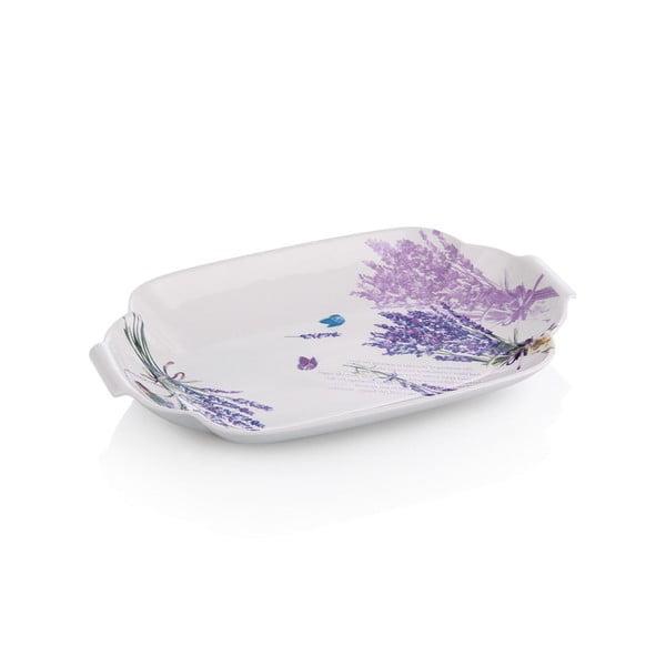 Porcelánový talíř Levandule, 29 cm