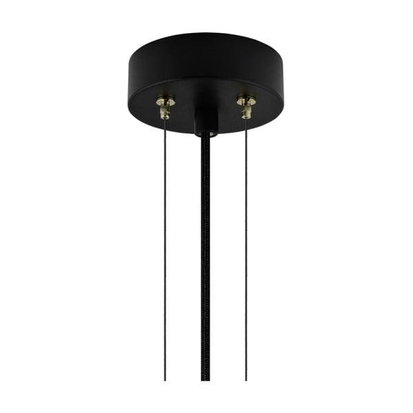 Závěsná lampa ve stříbrné barvě Bulb Attack Cuatro, průměr40cm