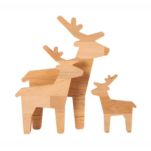 Dekorace z olšového dřeva Nørdifra Bambi, výška32cm