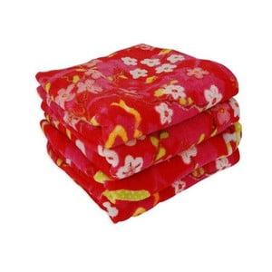 Ručník Chinese Blossom 55x100 cm, red