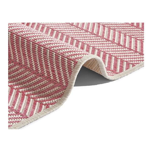 Růžový koberec vhodný i na ven Bougari Runna, 180x280cm