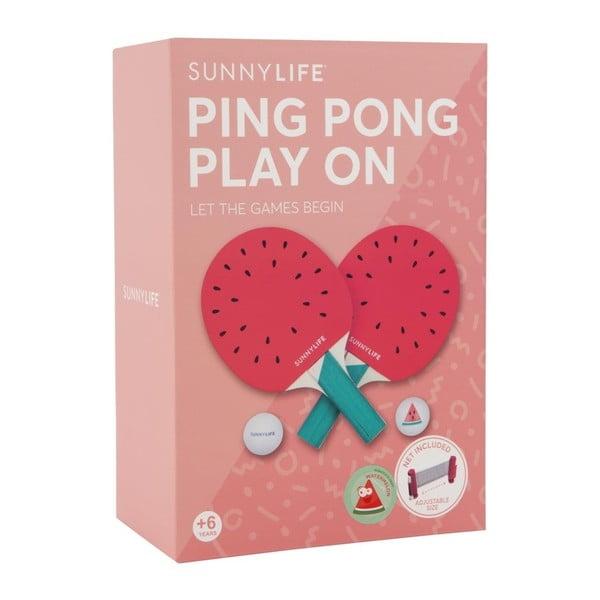 Sada na ping pong Sunnylife Watermelon