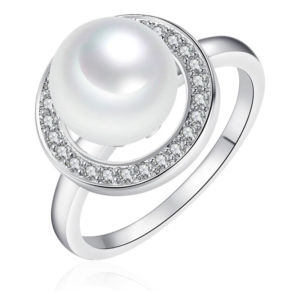 Perlový prsten Pearls Of London Sea,vel.54