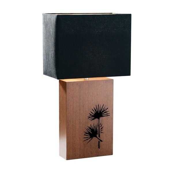 Stolní lampa Wenge, 18x32x59 cm