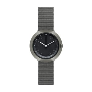 Hodinky Black Fuji Grey Nylon, 43 mm