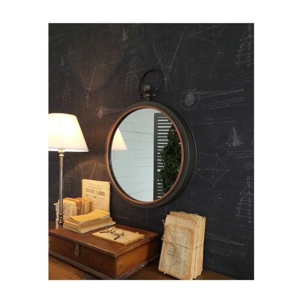 Nástenné zrkadlo Orchidea Milano Old Look Permo, ⌀ 61 cm
