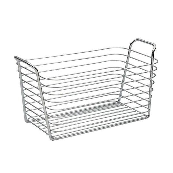 Úložný košík InterDesign Classico, šírka19 cm